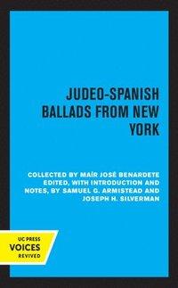 bokomslag Judeo-Spanish Ballads from New York