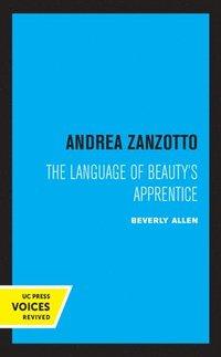 bokomslag Andrea Zanzotto