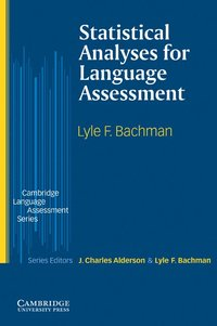 bokomslag Statistical Analyses for Language Assessment Book