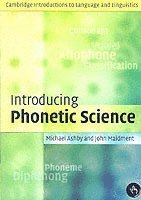 bokomslag Introducing Phonetic Science