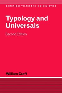 bokomslag Typology and Universals