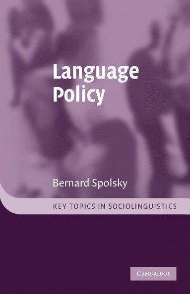 bokomslag Language Policy