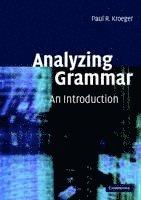 bokomslag Analyzing Grammar