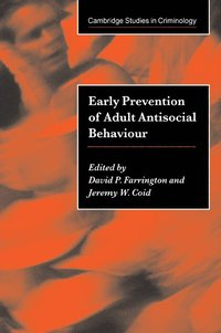 bokomslag Early Prevention of Adult Antisocial Behaviour