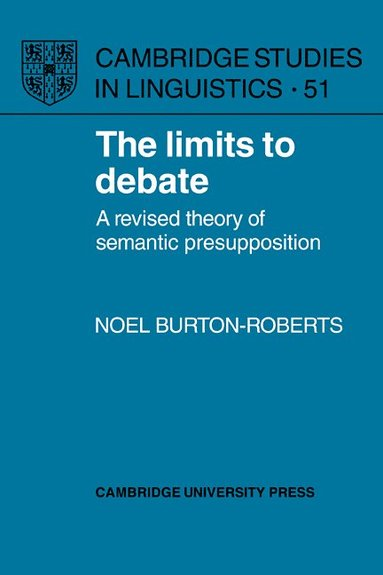 bokomslag The Limits to Debate