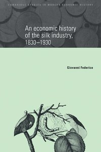 bokomslag An Economic History of the Silk Industry, 1830-1930