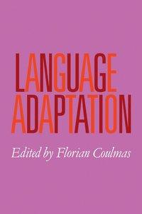 bokomslag Language Adaptation