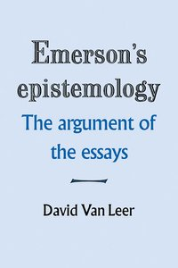 bokomslag Emerson's Epistemology