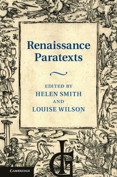 bokomslag Renaissance Paratexts
