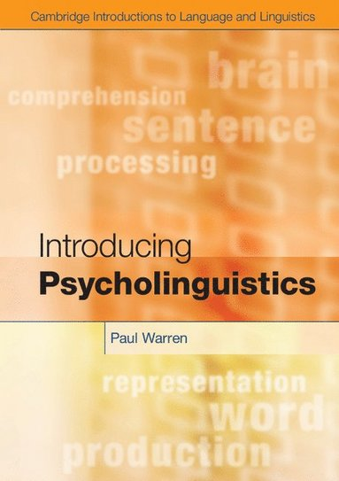 bokomslag Introducing Psycholinguistics