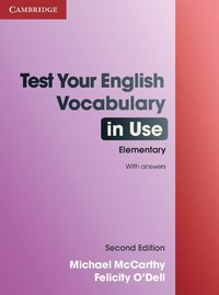 bokomslag Test Your English Vocabulary in Use Elementary with Answers