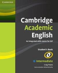 bokomslag Cambridge Academic English B1+ Intermediate Student's Book