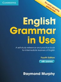 bokomslag English grammar in use book with answers - a self-study reference and pract