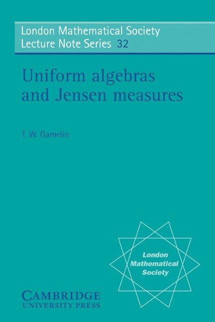 Uniform Algebras and Jensen Measures 1