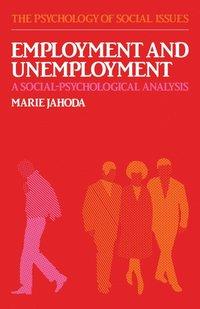bokomslag Employment and Unemployment