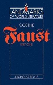 bokomslag Goethe: Faust Part One