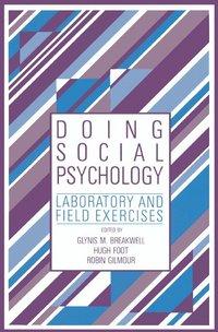 bokomslag Doing Social Psychology