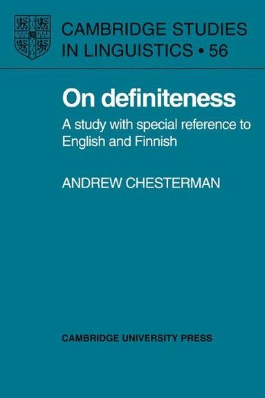 bokomslag On Definiteness