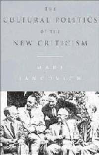 bokomslag The Cultural Politics of the New Criticism