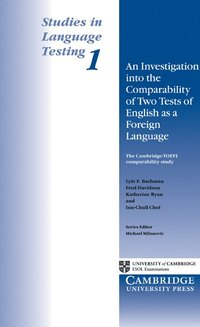 bokomslag An Investigation into the Comparability of Two Tests of English as a Foreign Language