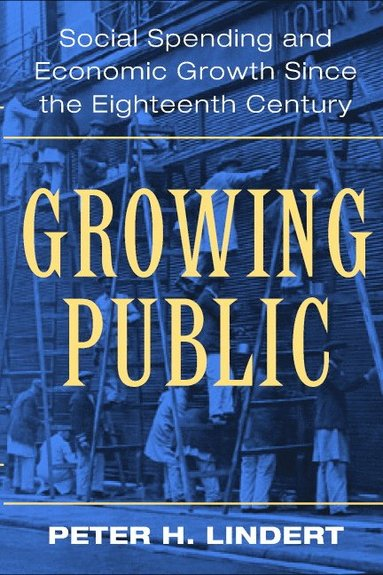 bokomslag Growing Public: Volume 1, The Story: Social Spending and Economic Growth since the Eighteenth Century