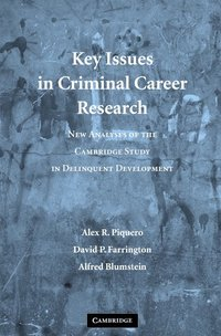 bokomslag Key Issues in Criminal Career Research: New Analyses of the Cambridge Study in Delinquent Development