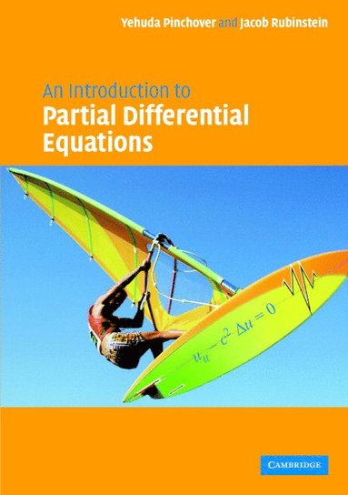 bokomslag An Introduction to Partial Differential Equations