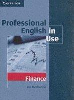 bokomslag Professional english in use finance