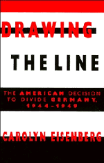 bokomslag Drawing the Line: The American Decision to Divide Germany, 1944 1949