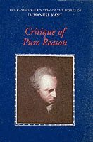 bokomslag Critique of Pure Reason