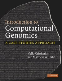 bokomslag Introduction to Computational Genomics: A Case Studies Approach