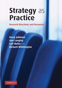 bokomslag Strategy as Practice