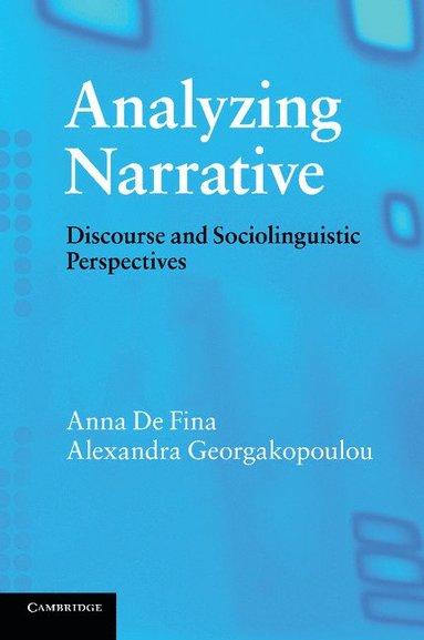 bokomslag Analyzing Narrative: Discourse and Sociolinguistic Perspectives