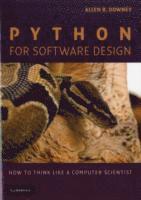 bokomslag Python for Software Design Paperback