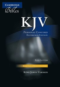 bokomslag KJV Personal Concord Reference Bible, Black French Morocco Leather, Thumb Index, Red-letter Text, KJ463:XRI black French Morocco leather, thumb indexed