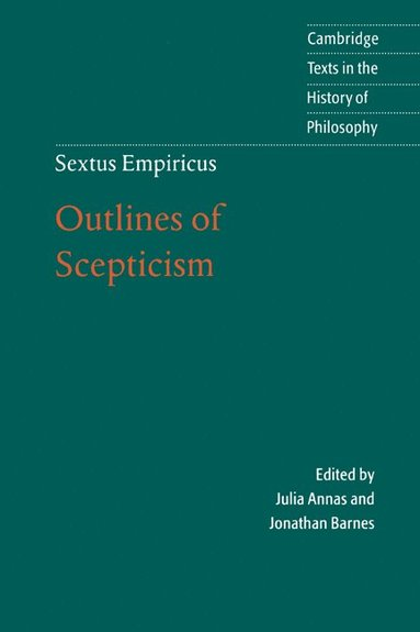 bokomslag Sextus Empiricus: Outlines of Scepticism