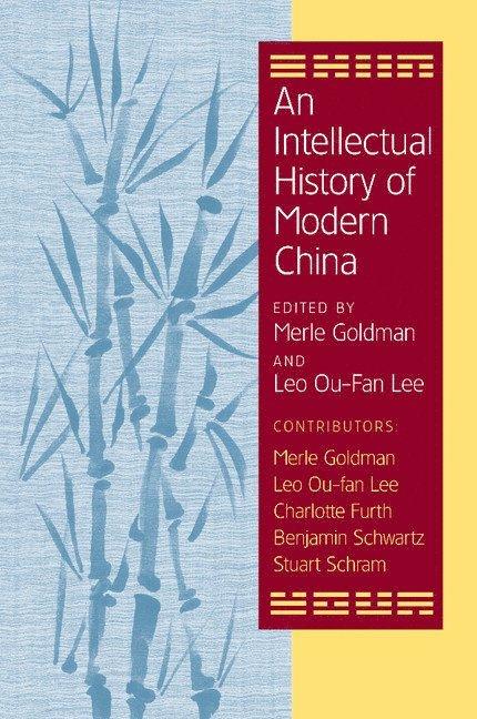 An Intellectual History of Modern China 1