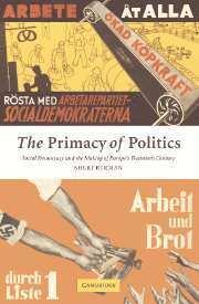 bokomslag The Primacy of Politics