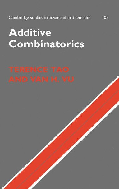 bokomslag Additive Combinatorics