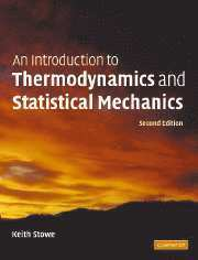bokomslag An Introduction to Thermodynamics and Statistical Mechanics