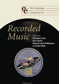 bokomslag The Cambridge Companion to Recorded Music