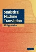 bokomslag Statistical machine translation