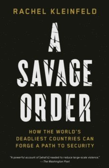 bokomslag A Savage Order