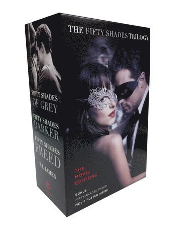 bokomslag Fifty Shades Trilogy: The Movie Tie-In Editions with Bonus Poster: Fifty Shades of Grey, Fifty Shades Darker, Fifty Shades Freed