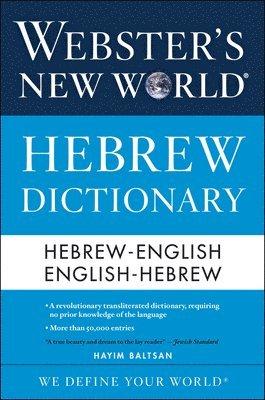 bokomslag Webster's New World Hebrew Dictionary