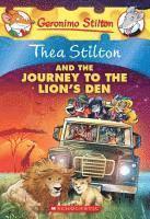 bokomslag Thea Stilton And The Journey To The Lion's Den