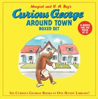 bokomslag Curious George Around Town Boxed Set (Box of Six Books)