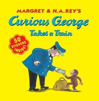 bokomslag Curious George Takes A Train  With Stickers