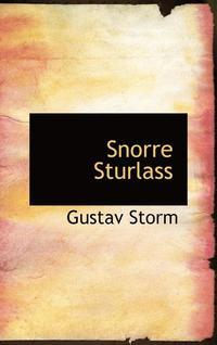 bokomslag Snorre Sturlassons Historieskrivning