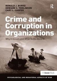 bokomslag Crime and Corruption in Organizations